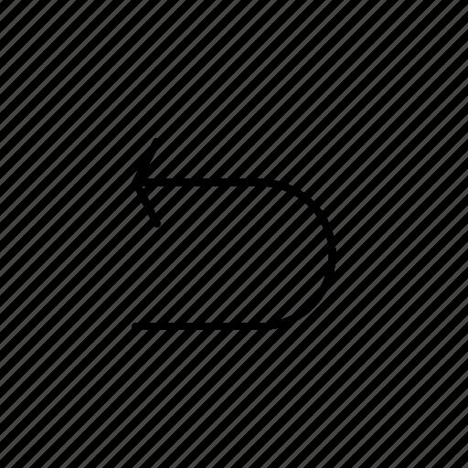 Arrow, back, direction, left, move, navigation icon - Download on Iconfinder