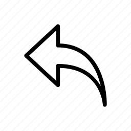 arrow, direction, left, move, navigation icon