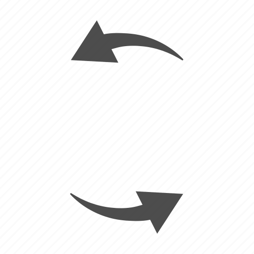 arrow, arrows, circle, sync icon