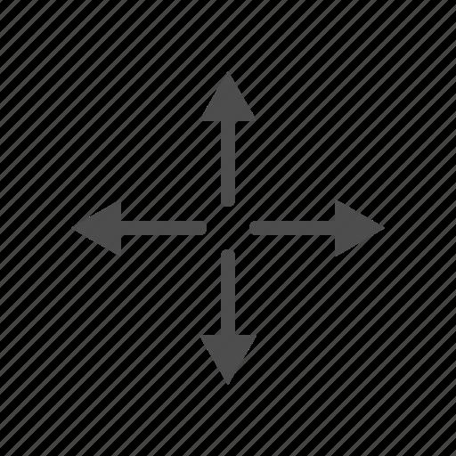 Arrow, arrows, cursor, direction, move icon - Download on Iconfinder