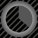 chart, diagram, graph, pie chart icon