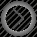 arrow, arrows, circle, move, next, right icon