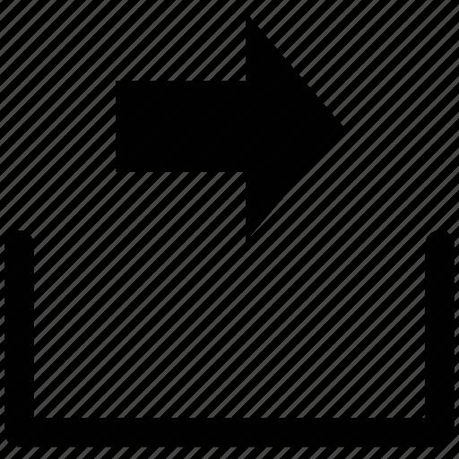 arrow, forward, right, web arrow icon