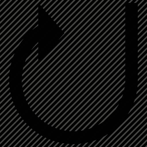 arrow, circular, circular arrow, circulation icon