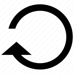 arrow, circular, refresh sign, reload icon