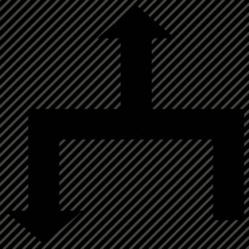 arrows, directional, directional arrows, directions icon