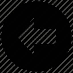 arrow, arrow left, direction, left icon