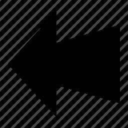 arrow, direction, left, left arrow icon