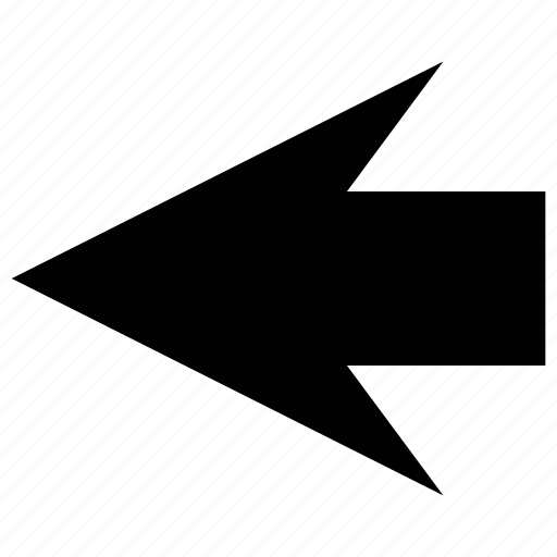 arrow, back, back arrow, direction icon