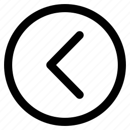arrow, media button, rewind, rewind button icon