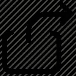 arrow, right, right arrow, window right icon