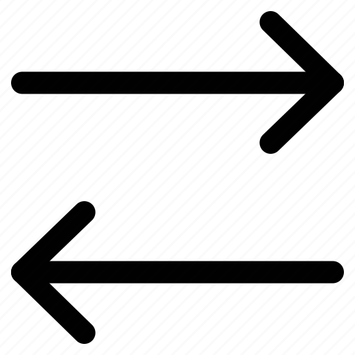 arrow left, arrow right, arrows, right and left icon