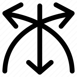 arrows, crossed, mix, navigational icon