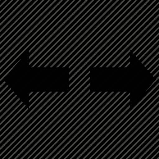 arrows, expand, increase, spread icon