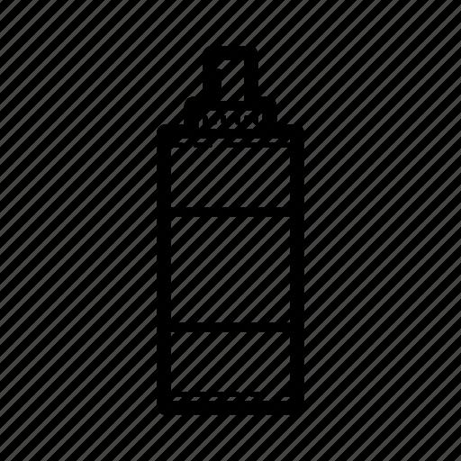 art, bottle, spray, tool icon