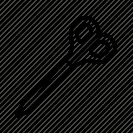art, scissor, sheers, tool icon
