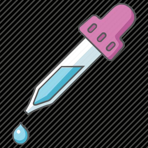 color, drop, dropper, ink, picker, pipette icon