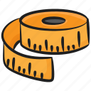 inches tape, measuring tape, meter tape, ruler tape, scale tape