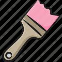 artbrush, artwork, coloring, drawing, paint brush