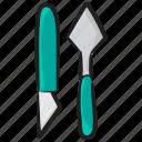 art blades, paint dagger, paint knivs, paint tool, painting accessories