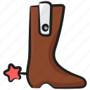 ankle boots, high boots, high shoes, hunting shoes, long boots, shoe design, winter boots icon