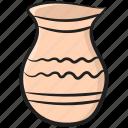 ceramic, clay pot, crockery, earthenware, pottery, stoneware
