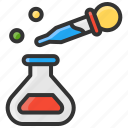 art, color, coloring, design, eyedrop, research icon