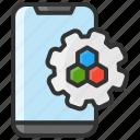 art, color, configuration, design, smartphone icon