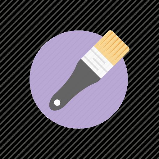 art brush, brush, color brush, ink brush, paint brush, paint tool icon