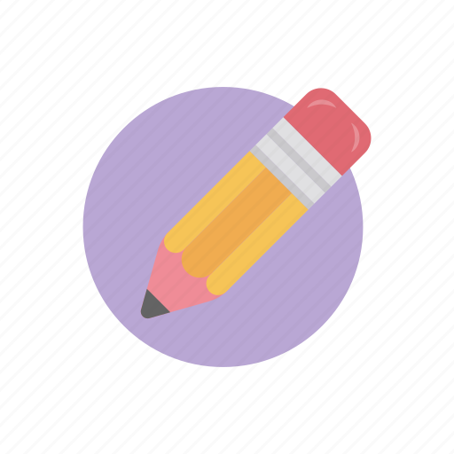 edit pen, pencil, stationery, writing pencil, writing tool icon