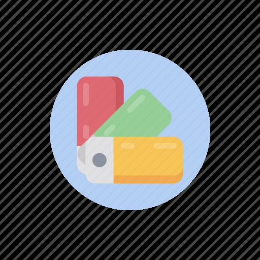 color catalog, color guide, color palette, color sampler, color swatches, paint swatches icon