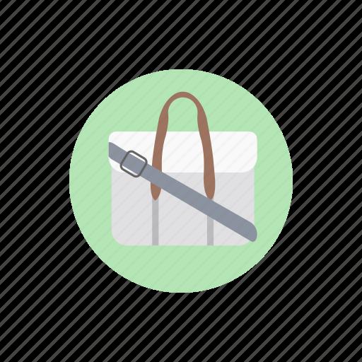 art bag, briefcase, gripsack, painter bag, suitcase icon