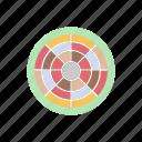 art tool, color palette, color wheel, paint palette, paint tray icon