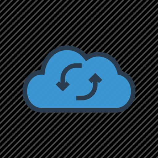 backup, cloud, database, server, storage icon