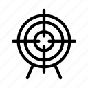 art, design, focus, goal, target icon