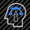 art, bezier, curve, design, head icon