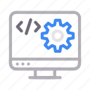 coding, development, display, programming, screen