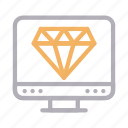 art, design, diamond, quality, screen