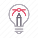 art, bezier, creative, idea, innovation icon
