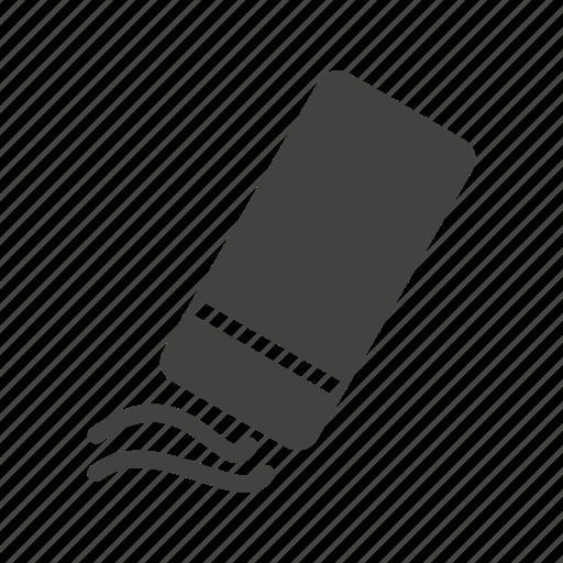 eraser, erasing, instrument, office, pencil, rubber, tool icon