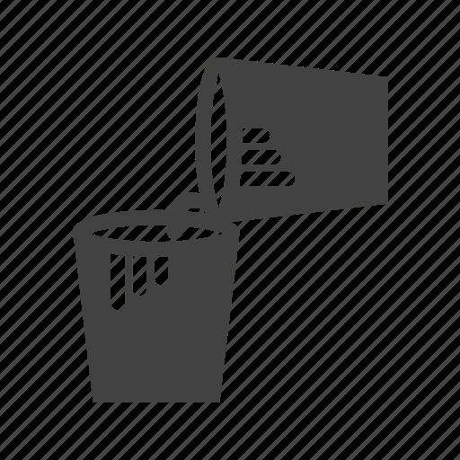 Box, container, bucket, plastic, paint, cream icon