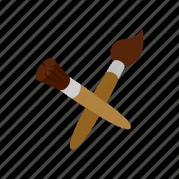 art, blog, brushes, draw, drawing, isometric, paint icon