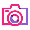 art, camera, digital, equipment, school icon