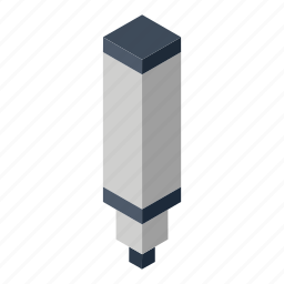 isometry, marker icon