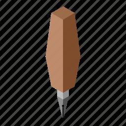 isometry, pen icon