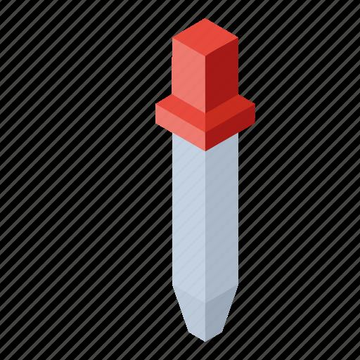 eyedropper, isometry icon