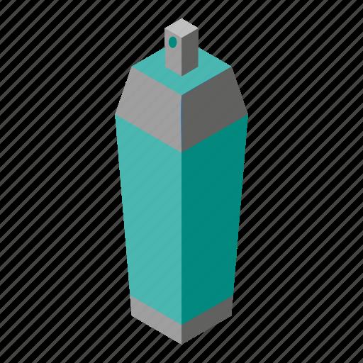 isometry, spray icon