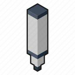 isometry, line, marker icon