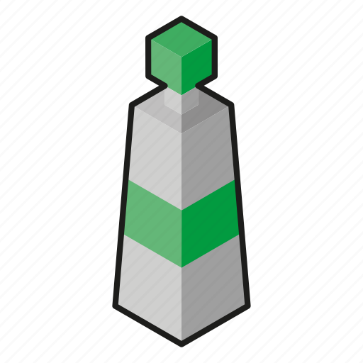 acrylic, green, isometric, line art, paint icon