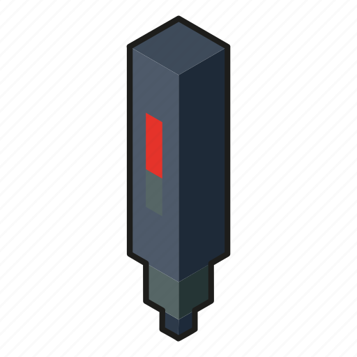 art, digital, digital pen, isometric, line art, optical pen icon